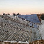 Herzogenrath, Verlegung der Solarmodule