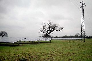 Solarpark Upper Huntingford (GB)