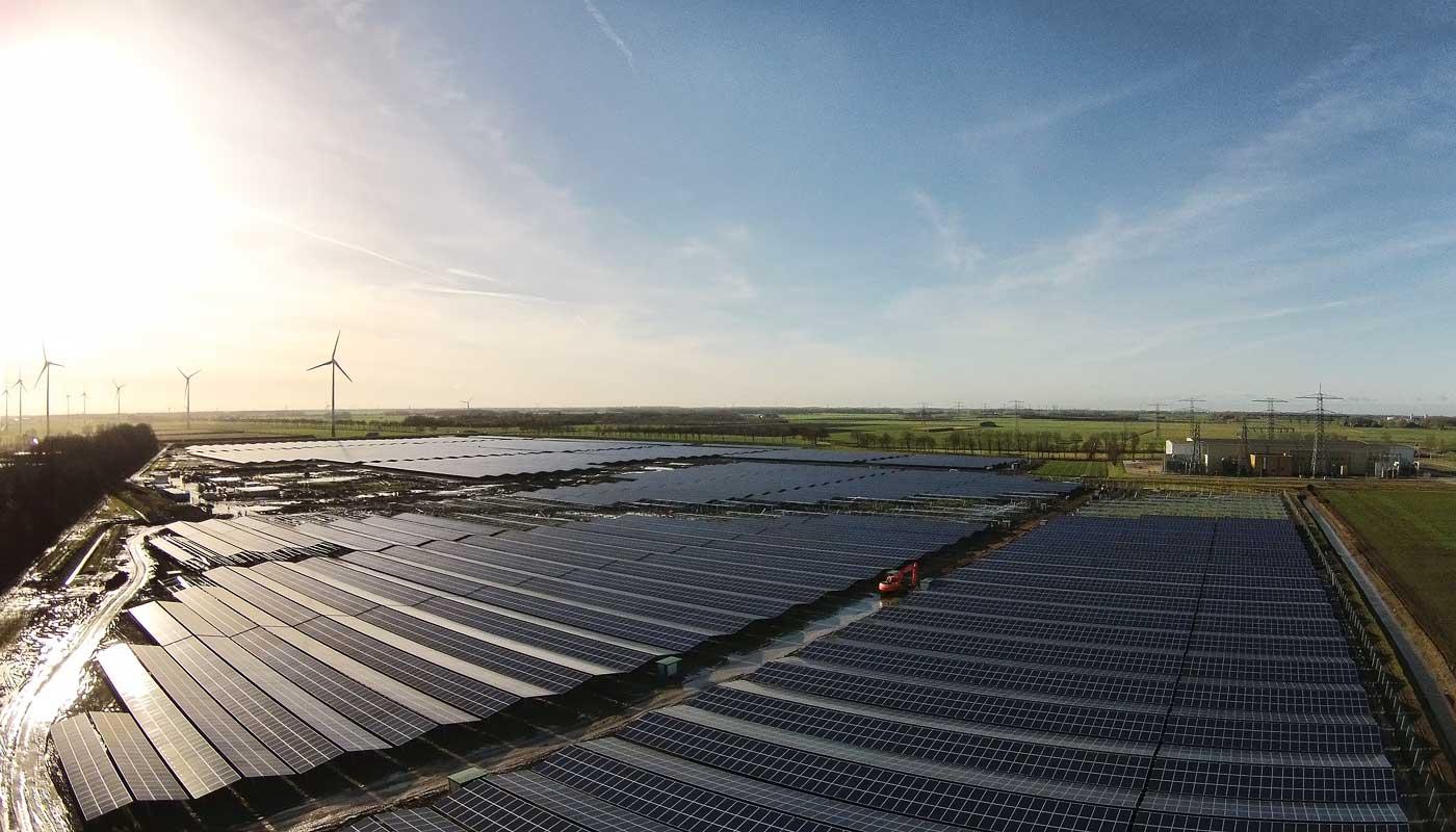 Solarpark Delfzijl (NL)