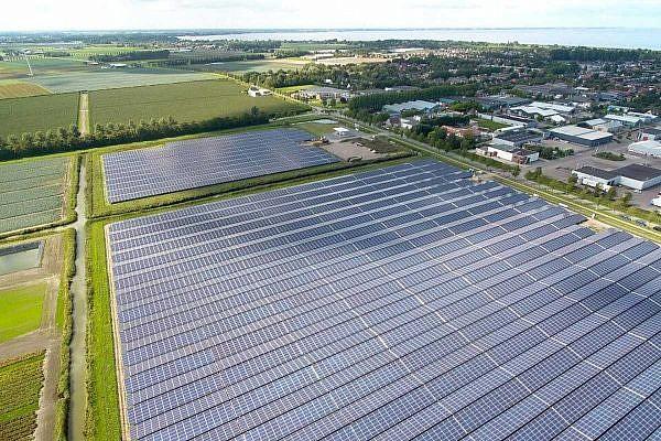 Solarpark Andijk, NL