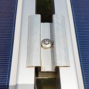Diebstahlhemmung: Aluminiumkugel zum Verschließen des Schraubenkopfs