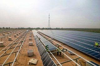 Solarpark Kaolack, Senegal