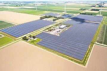 Solarpark Lelystad I + II (NL)