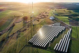 Solarpark Beidweiler, Luxemburg