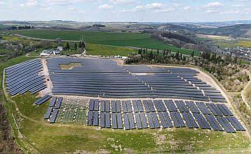 Solarpark Lauperath, Eifel (D)