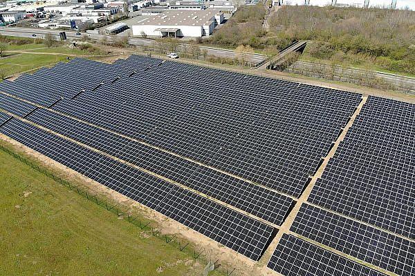 Solarpark Köllertal, Saarlouis-Roden (D)