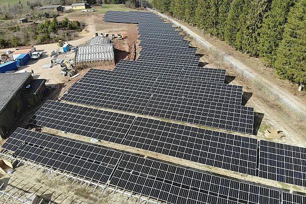 Solarpark Neidenbach, Eifel (D)
