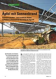 PHOTON 2021-06 Artikel Agri-PV