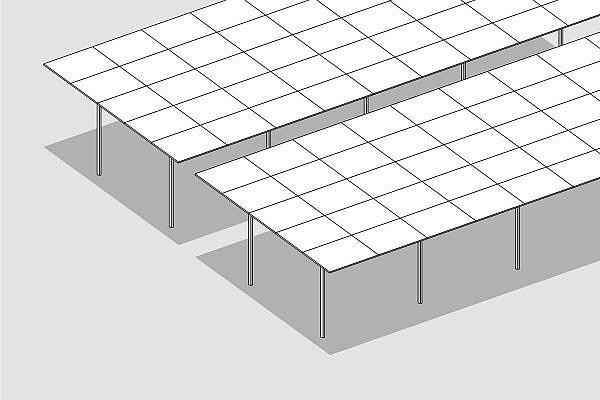 GMS flex parallel slope system