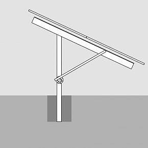 GMS® FLEX with a concrete foundation