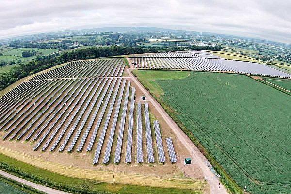 Solar park Hurcott (GB)