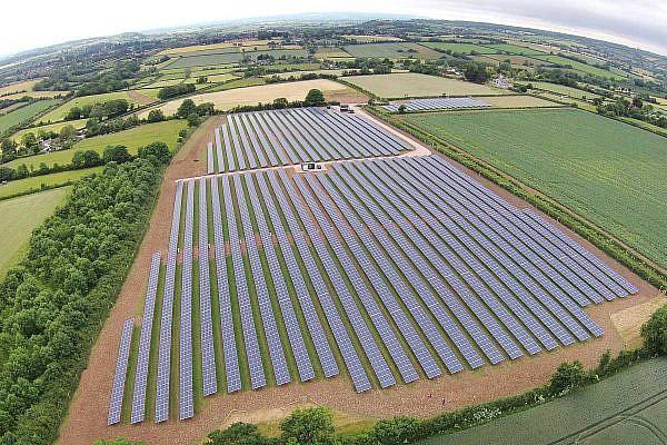 Solar park Tengore (GB)