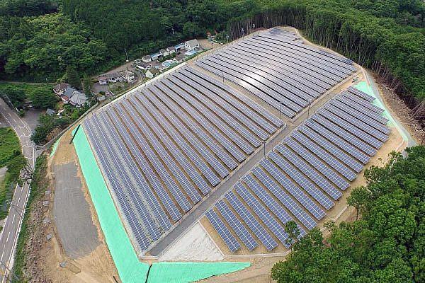 Solar park Nasukarasuyama (JP)