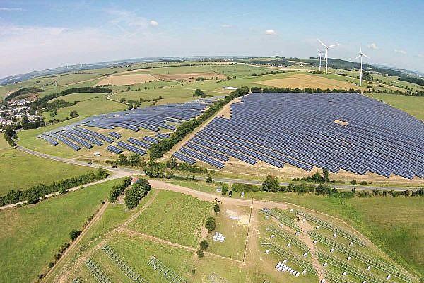 Solar park Plütscheid (D)