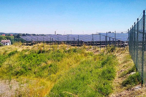 Solar park Marktredwitz (D)