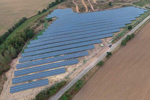 Solar Park Bilzingsleben (D)