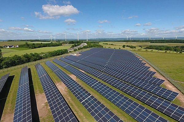 Solar park Rückweiler (D)