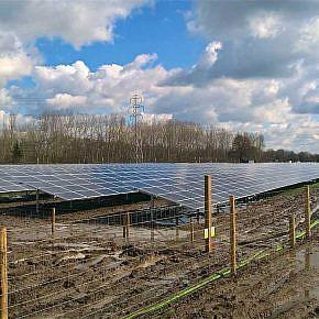 The solar park Marchington is ready