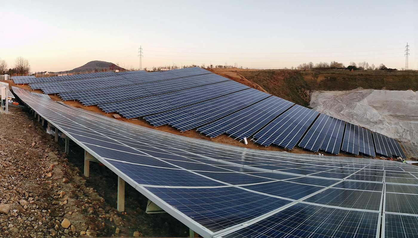 Solar park Herzogenrath (D)