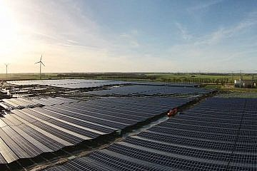 Solar park Delfzijl (NL)