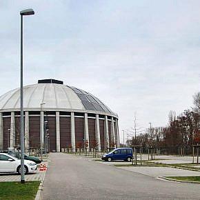 Roof-top plant on Hamburg-Moorburg power station
