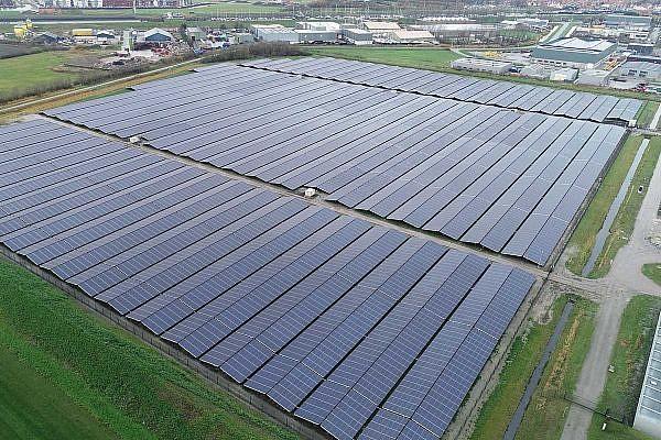 Solar park Zierikzee, NL