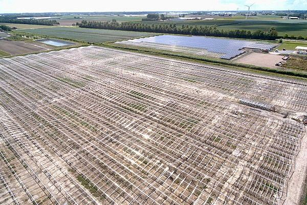 Solar park Andijk, NL