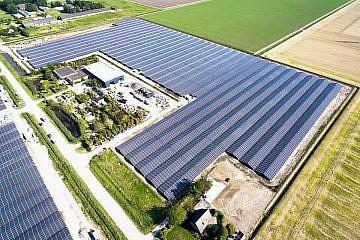Solar park Lelystad (NL)