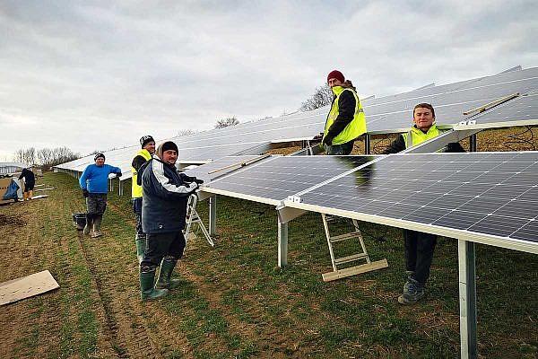 Solar park Öhringen-Untermaßholderbach (D)