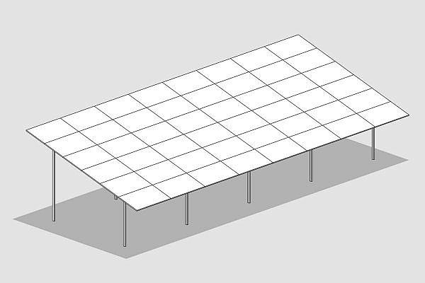 GMS® MAX system with 6 horizontal panels