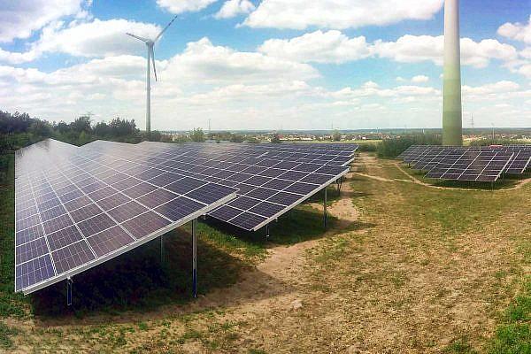 Solar park Ostrowo (PL)