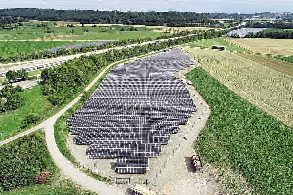 Solar park Wörnitz (D)