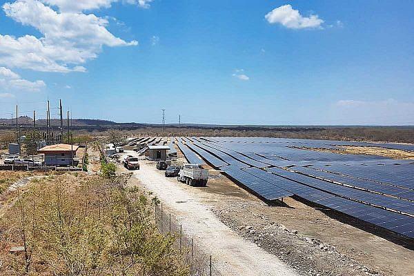 Solar park Puerto Sandino, Nicaragua