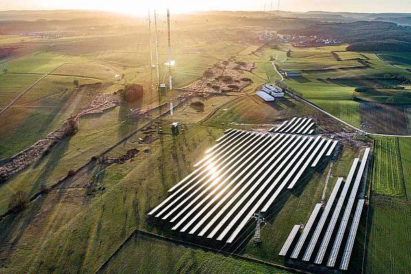 Solar park Beidweiler, Luxembourg